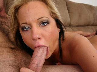 Busty Sophia likes to have a nice big cock rammed down her throat