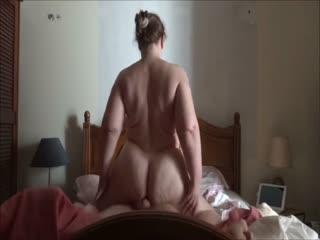Hot MILF Fatty Rides A Cock