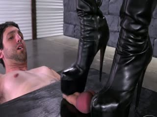 Sexy Ballbusting And Trampling By Hot Mistress