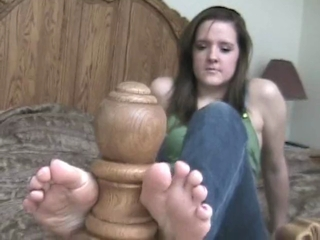 Sally Loves To Tease With Her Juicy Feet