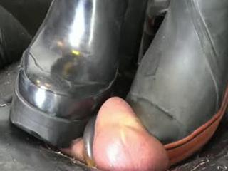 Hardest Ball And Cock Trampling With Boots And Shoes 02