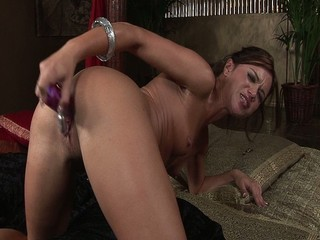 Alyssa Reese Gets Herself Off