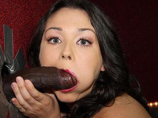 Rikki Love Pleasing A Big Black Dick