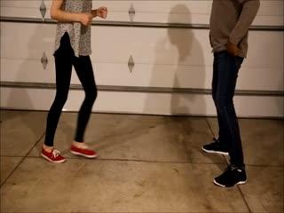 Kicking In Keds