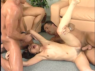 Three German Cocks For The Sexy Asian
