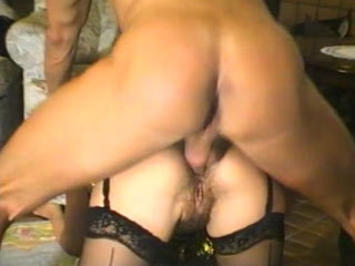 Young German Chick Gets A Hard Cock In Her Holes