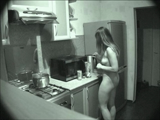 Anita Walks Naked Around The House