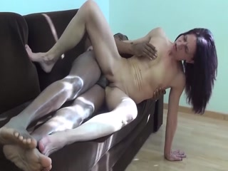 Skinny Mom Drilled In The Pussy By A Black Stud