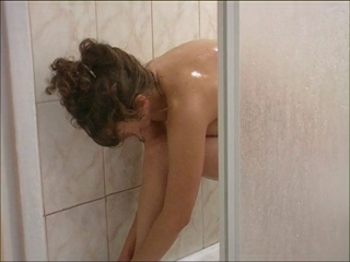 Hot Nina Taking A Shower