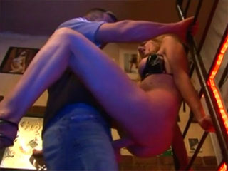 Amateur MILF Banged In A Bar