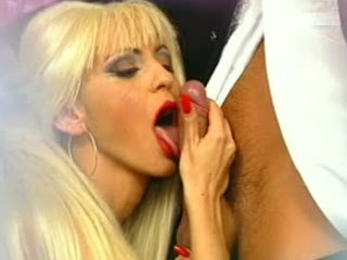 Slutty Blonde Seduces Hot Stud
