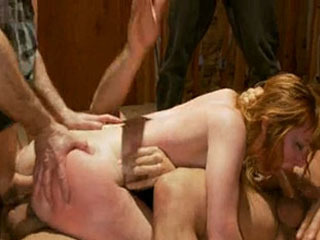Big Butt Redhead Fantasizes Of Being Bound Helpless And Filled W/ Cock