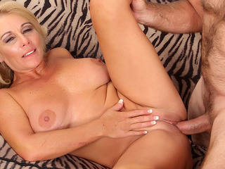 Mature Blond MILF Crystal Taylor Gets Fucked