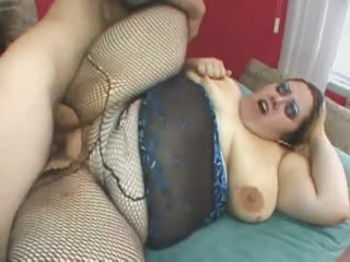 BBW slut is going crazy for a cock
