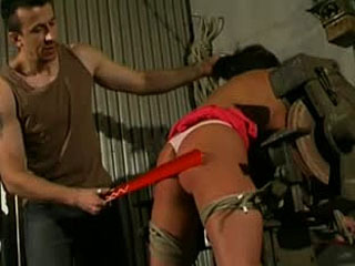 Hottie Gets BDSM Spanking