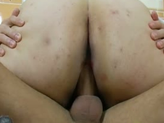 Big Teen Cock Fucks Big Fat Mature