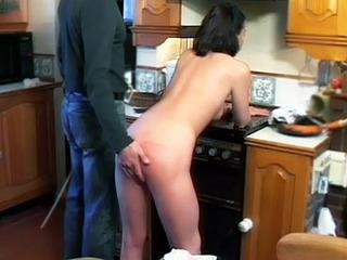 Intense Ass Spanking
