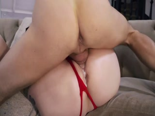 Dirty Chubby Redhead Slut Gets Railed