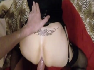 Sissy Hooker Bends Over And Gets Hard Dick