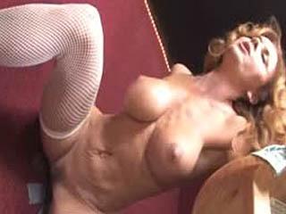 Janet Mason Pleasing A Black Dick