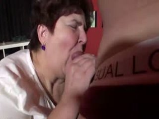 Horny Granny Still Loves Blowjob