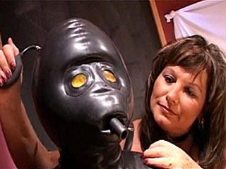 See Hot Mistress Slapping Her Slave Boy