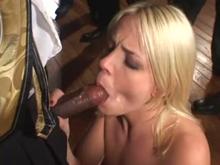Missy Monroe sucking big cocks