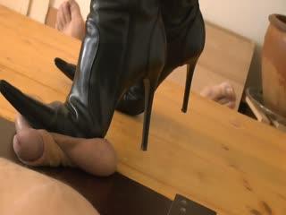 Balls Under My Sexy Boots