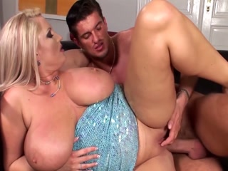 Blonde With Huge Tits Getting Nailed And Sprayed With Semen