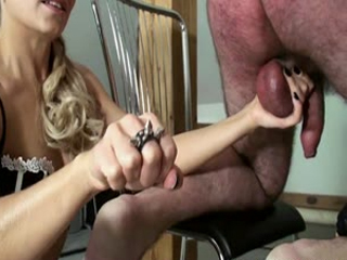 Very Nice CBT With 2 Girls And Full Power Cruel Squeezing