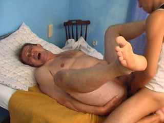 Young Cock For The Horny Mature Guy