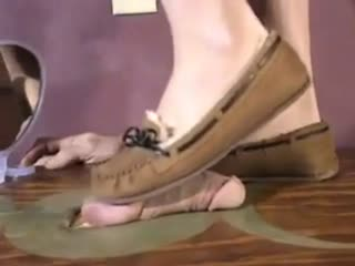 Cock Crush In Moccasins