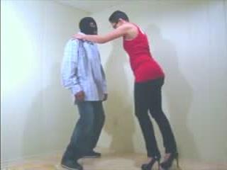 Ebony Ballbusting