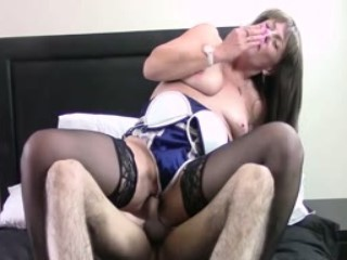 British Mature Fucked Really Hard By Young Dick