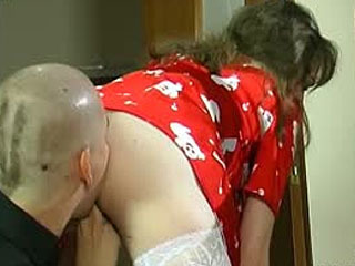 Lusty Mature French Maid Fulfilling Her Dirty Fantasy Taking On Beefy Meat