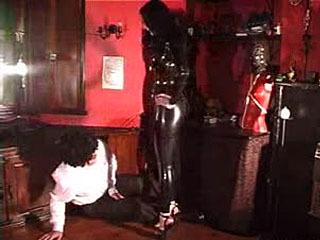 Black Leather Knee