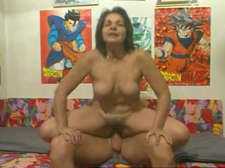 A Hard Cock For The Sexy Mature