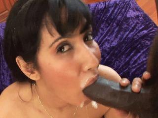 Fat Black Cock For A Slutty Chick