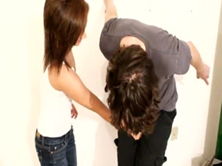 Strip Ballbusting
