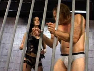 Prisoner BDSM Whipping
