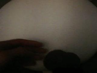 Teen Flattening His Balls