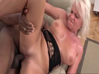 Dirty Granny Adores BBC