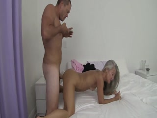 Experienced Granny Shows A Guy How To Satisfy A Woman