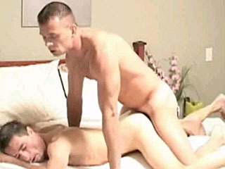 Hunky guy loves it hard and raw