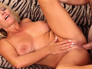 Blond MILF Crystal Taylor Gets Fucked