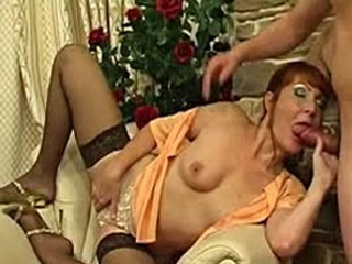Heated Mature Housewife Going After Sturdy Guy Instead Of Her Daily Chores