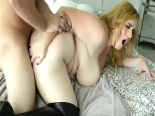 Slutty BBW Gets Hard Fucked By Her BF