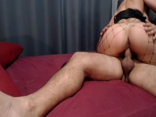 Amazing Lady In Fishnet Adores Anal Drilling
