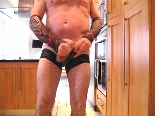 COCK THRASHING WANK AND CUM