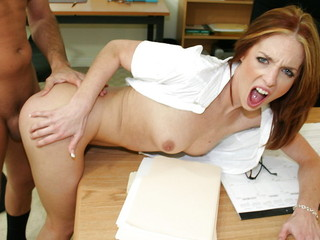 Riley Shy And Scott Hancock Start Training With A Fucking
